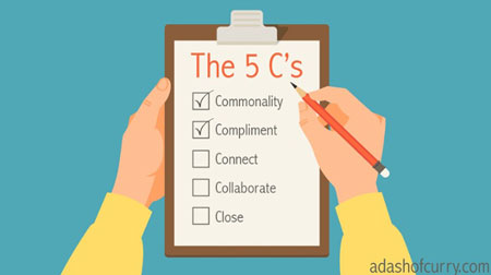 The five C's that will help you sell with ease